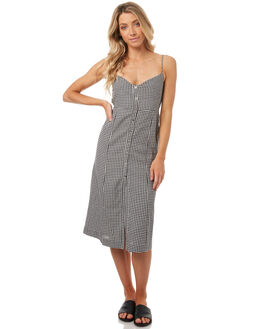 GINGHAM WOMENS CLOTHING THE HIDDEN WAY DRESSES - H8174441GING