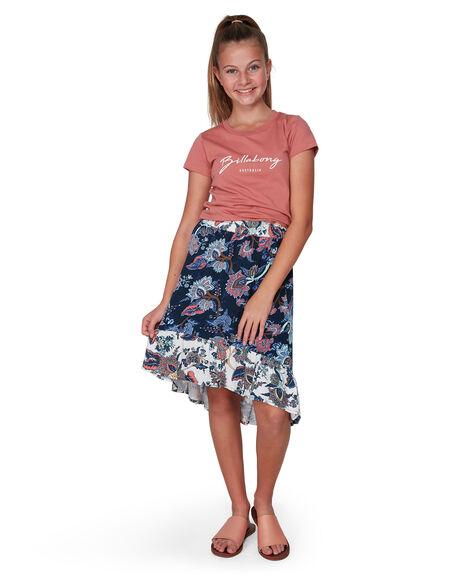 NAVY KIDS GIRLS BILLABONG SHORTS + SKIRTS - BB-5507521-NVY
