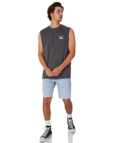 WASTED BLUE OUTLET MENS THRILLS SHORTS - TDP-314WEWBLU