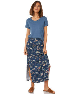 DUSTY BLUE WOMENS CLOTHING AFENDS TEES - W191004DBLU
