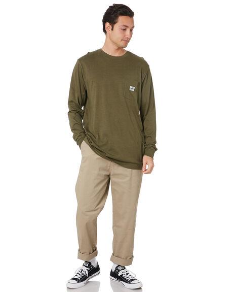HEMP GREEN MENS CLOTHING DEPACTUS TEES - D5211100HMPGN