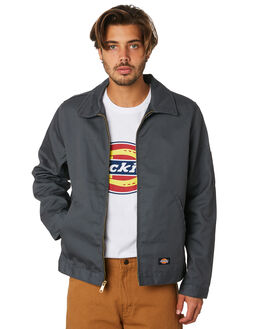 CHARCOAL MENS CLOTHING DICKIES JACKETS - TJ75CH