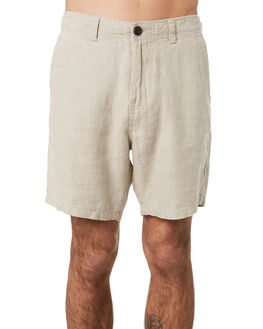 OATMEAL MENS CLOTHING ACADEMY BRAND SHORTS - 20S607OAT