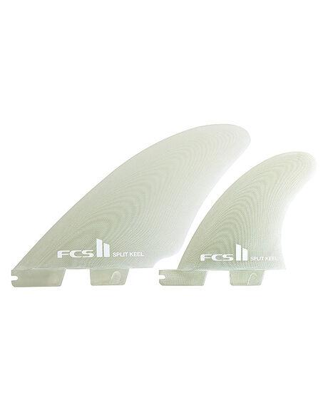 CLEAR BOARDSPORTS SURF FCS FINS - FSPK-PG01-QS-RCLR1