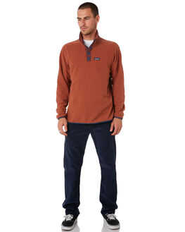 SISU BROWN MENS CLOTHING PATAGONIA JUMPERS - 26165SIBR