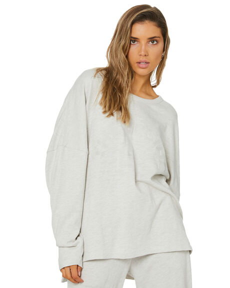 GREY WOMENS CLOTHING THE UPSIDE ACTIVEWEAR - USW221086GRY