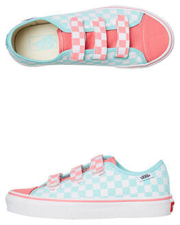 BLUE TINT KIDS GIRLS VANS SNEAKERS - VNA3JFNVJHBTNT