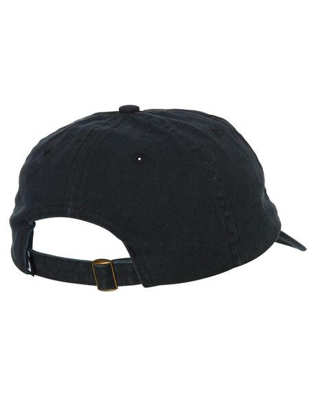 BLACK MENS ACCESSORIES STUSSY HEADWEAR - ST796003BLK