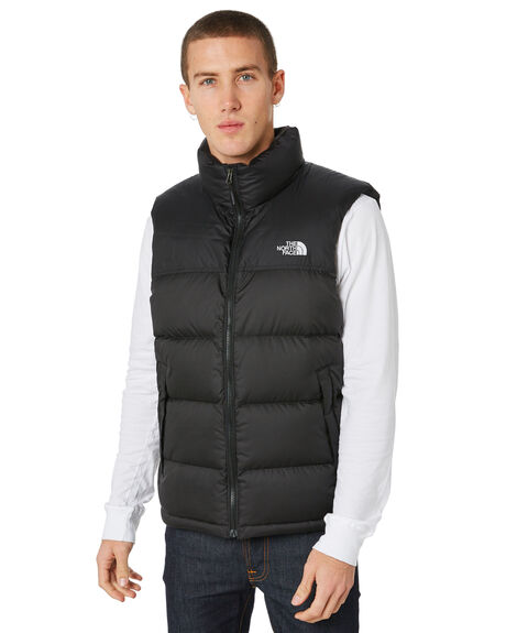 BLACK MENS CLOTHING THE NORTH FACE JACKETS - NF0A33QDKX7