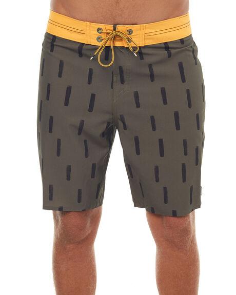 OLIVE MENS CLOTHING REEF BOARDSHORTS - A427OLI