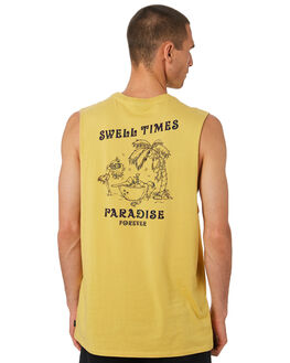SUN BAKE MENS CLOTHING SWELL SINGLETS - S5202276SUNBA