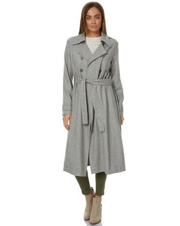 LIGHT GREY WOMENS CLOTHING THE FIFTH LABEL JACKETS - TP170422JGRY