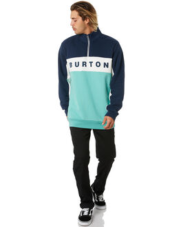 DRESS BLUE MENS CLOTHING BURTON JUMPERS - 21767100400