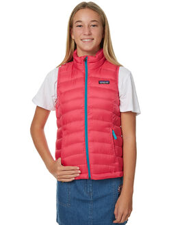 MAGIC PINK KIDS GIRLS PATAGONIA JACKETS - 68226MAGP