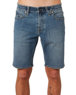SEVENTIES INDIGO MENS CLOTHING VOLCOM SHORTS - A2031802SVI