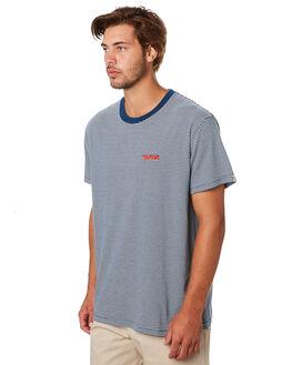 INDIGO WHITE MENS CLOTHING DEUS EX MACHINA TEES - DMS91348INDWH