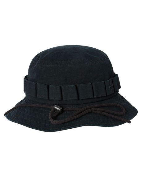 BLACK MENS ACCESSORIES INDEPENDENT HEADWEAR - IN-MCC0372-BLK