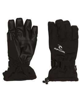 JET BLACK BOARDSPORTS SNOW RIP CURL GLOVES - SCGAB44284