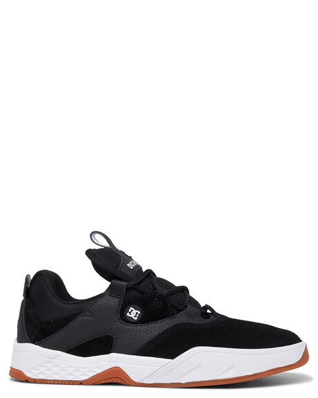 BLACK WHITE GUM MENS FOOTWEAR DC SHOES SNEAKERS - ADYS100470-BW6