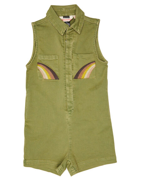 MOSS STONE KIDS GIRLS MUNSTER KIDS DRESSES + PLAYSUITS - MM201JS09KMSTN
