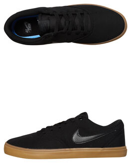 BLACK GUM MENS FOOTWEAR NIKE SKATE SHOES - 843896-009