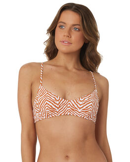 GINGER OUTLET WOMENS RHYTHM BIKINI TOPS - OCT18W-SW17GIN