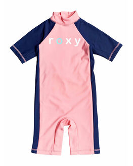GERANIUM PINK KIDS GIRLS ROXY SWIMWEAR - ERLWR03102-MFZ0