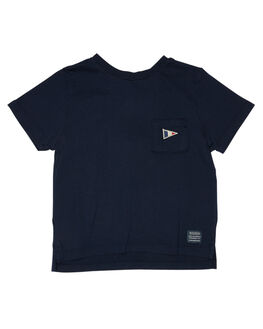 NAVY KIDS BOYS ROOKIE BY THE ACADEMY BRAND TOPS - R19W411NVY