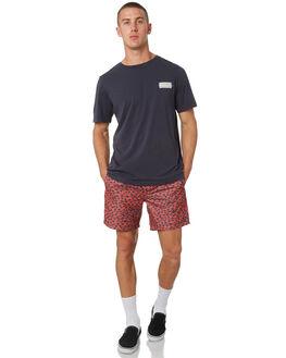 NEW NAVY MENS CLOTHING RVCA TEES - R182094BNWNVY