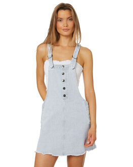 RAILROAD BLUE WOMENS CLOTHING RUSTY PLAYSUITS + OVERALLS - DRL0946RRB