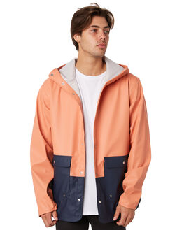 CARNELIAN PEACOAT MENS CLOTHING HERSCHEL SUPPLY CO JACKETS - 15009-00203CARN