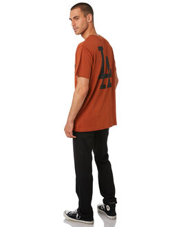 DODGERS COPPER MENS CLOTHING MAJESTIC TEES - MLD7020TICOPPR