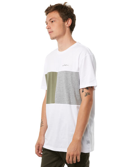 WHITE MENS CLOTHING HUFFER TEES - MTE81S228WHT