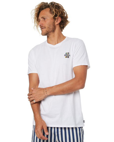WHITE MENS CLOTHING SWELL TEES - S5184041WHITE