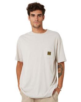 WHITE SAND MENS CLOTHING STUSSY TEES - ST093004WHTS