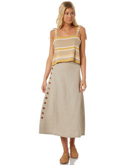 GOLDEN TONES WOMENS CLOTHING SAINT HELENA FASHION TOPS - SHS18814GOLD