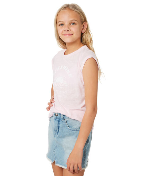 LILAC KIDS GIRLS RIP CURL TOPS - JTEEH10108
