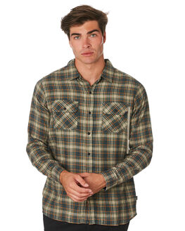OUTDOOR GREEN MENS CLOTHING HURLEY SHIRTS - AR0820346
