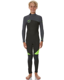 SAFETY YELLOW SURF WETSUITS QUIKSILVER STEAMERS - EQBW103016GGP0