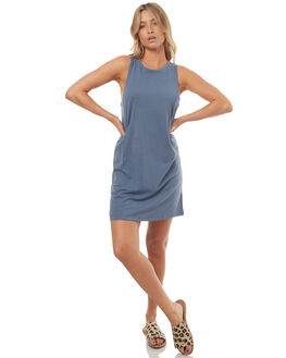 CHINA BLUE WOMENS CLOTHING ROXY DRESSES - ERJKD03128BND0