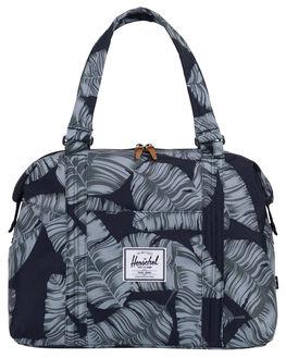 BLACK PALM WOMENS ACCESSORIES HERSCHEL SUPPLY CO BAGS - 10343-01984-OSBKPAL