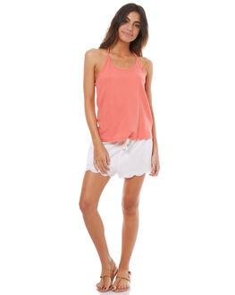 MARSHMELLOW WOMENS CLOTHING ROXY SHORTS - ERJNS03123WBTO