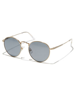 GOLD CRYSTAL CLEAR UNISEX ADULTS CRAP SUNGLASSES - 171WA91PGGLDCL
