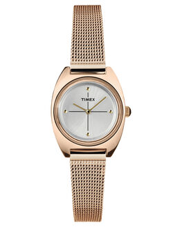 ROSE GOLD WOMENS ACCESSORIES TIMEX WATCHES - TW2T37800RGLD