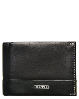 BLACK MENS ACCESSORIES RIP CURL WALLETS - BWULF10090