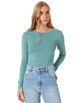 TEAL WOMENS CLOTHING ALL ABOUT EVE TEES - 6454019TEAL