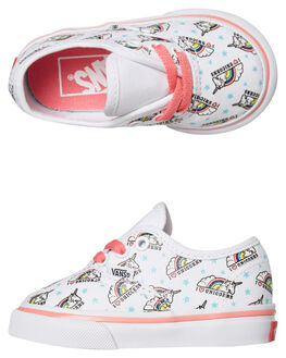 TRUE WHITE KIDS GIRLS VANS FOOTWEAR - VNA38E7VI9TWHT