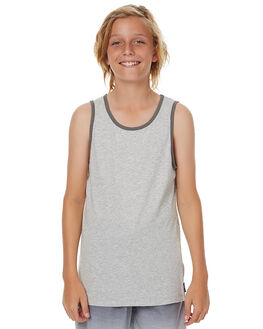 GREY MARLE KIDS BOYS BILLABONG SINGLETS - 8562507GRYM