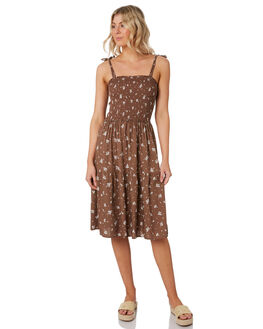 ROMANCE FLORAL WOMENS CLOTHING THE HIDDEN WAY DRESSES - H8202450ROMFL