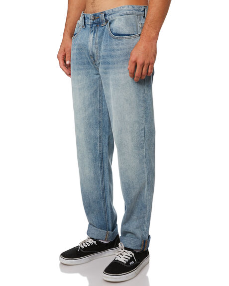 INDIGO BLEACH MENS CLOTHING BILLABONG JEANS - 9595353INBLE